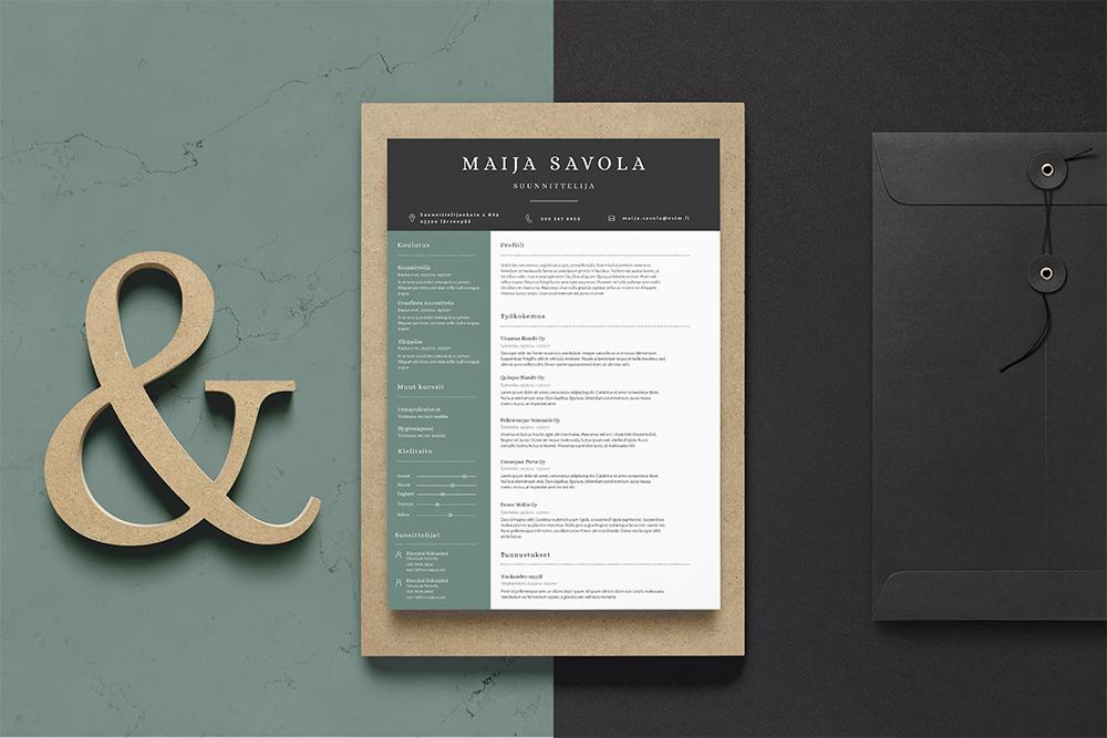 Maija CV-pohja